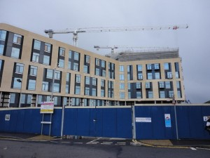 New Southmead superhospital under construction