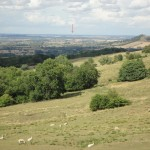 Dover's Hill: wide view of Birmingham