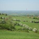 Ilmington: wide view of Birmingham