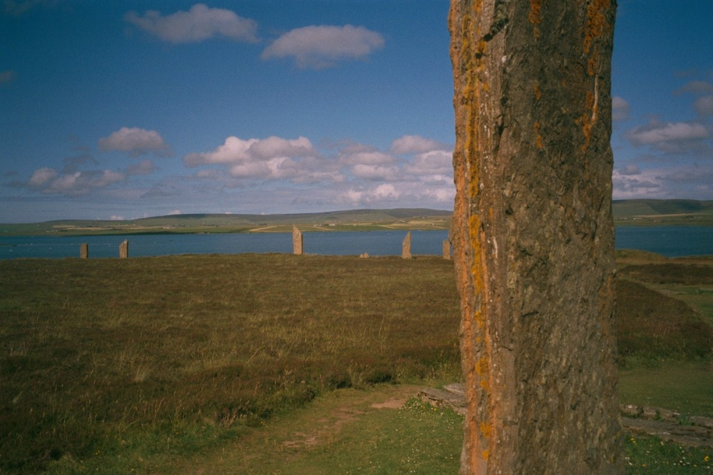 The Ring of Brodgar stone circle on mainland Orkney