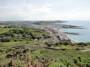 View of Aberystwyth, at the other end of the A44 from Chipping Norton