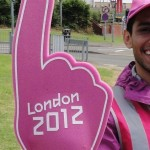 Coventry Olympic volunteer shows us where to go