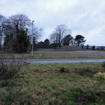 Derelict land at Beacon Technology Park in Bodmin
