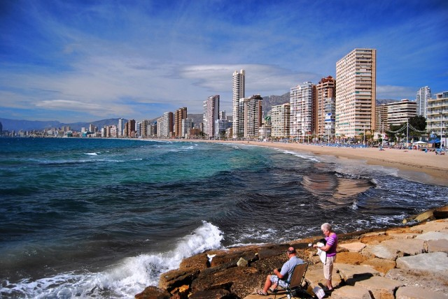 Benidorm's sky-scraping skyline. Photo: Stephen @8mm & Other Stuff via Flickr, used under a Creative Commons licence