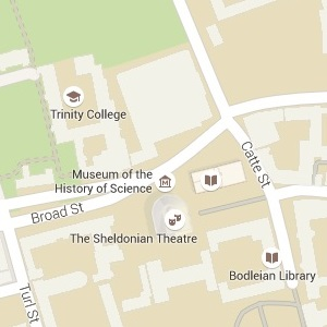 Google Map Oxford