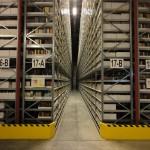 Book Storage Facility aisle