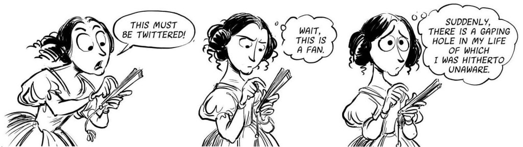 Ada Lovelace invents Twitter