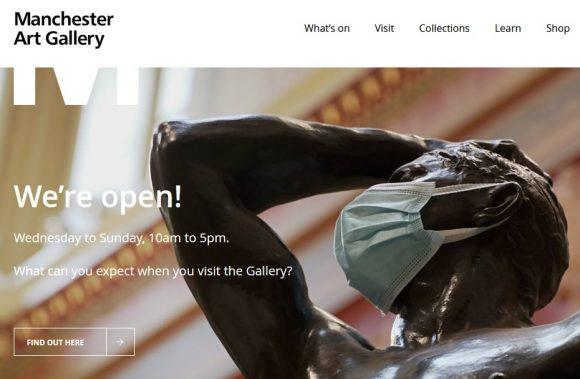 Manchester Art Gallery We're open